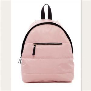 NWT! Madden Girl Prior Pink Nylon Mini Backpack
